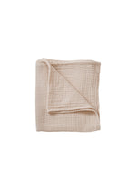 GARBO & FRIENDS Eggshell Muslin Swaddle Blanket