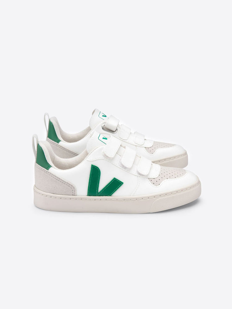 Load image into Gallery viewer, VEJA V10 Velcro - White Emeraude