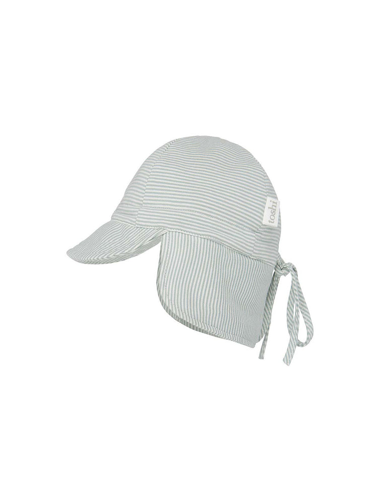 Load image into Gallery viewer, TOSHI Flap Cap Baby - Sage