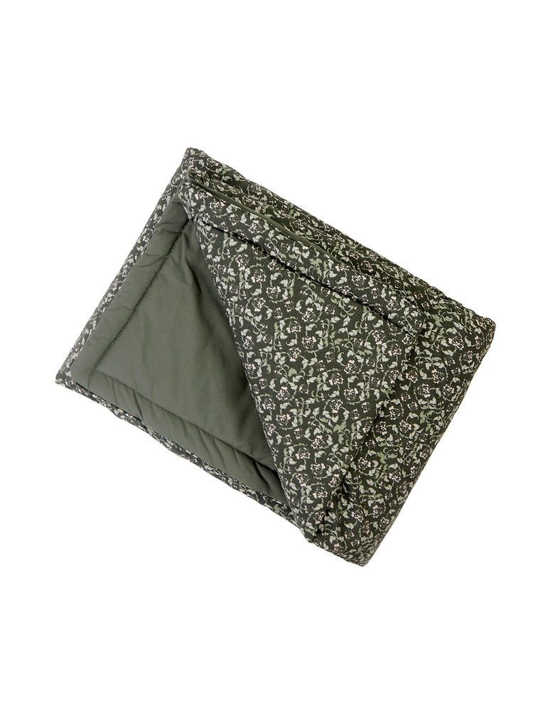 GARBO & FRIENDS Floral Moss Blanket