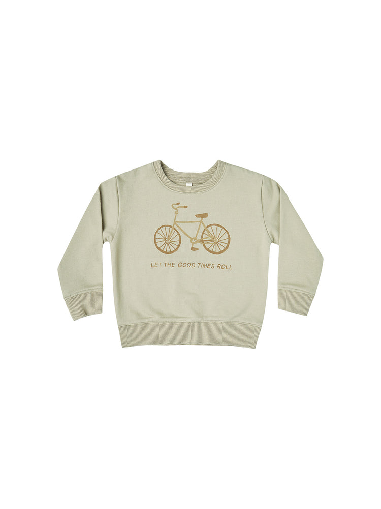 Load image into Gallery viewer, Rylee + Cru French Terry Sweatshirt Bikes