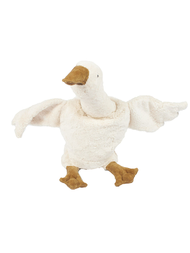 SENGER NATURWELT Large Cuddly Animal - White Goose