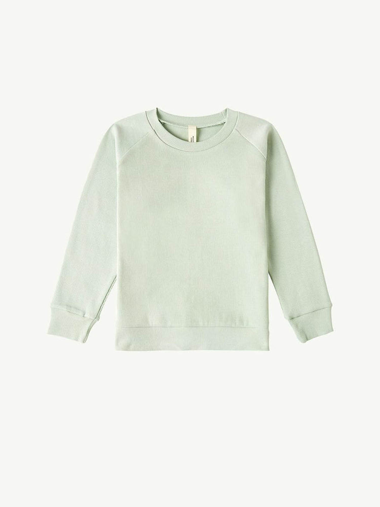 SUMMER AND STORM Long Sleeve Pullover - Soft Aqua