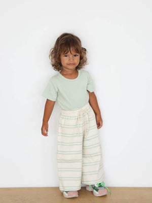 Load image into Gallery viewer, SUMMER AND STORM Wide Leg Pant - Soft Aqua