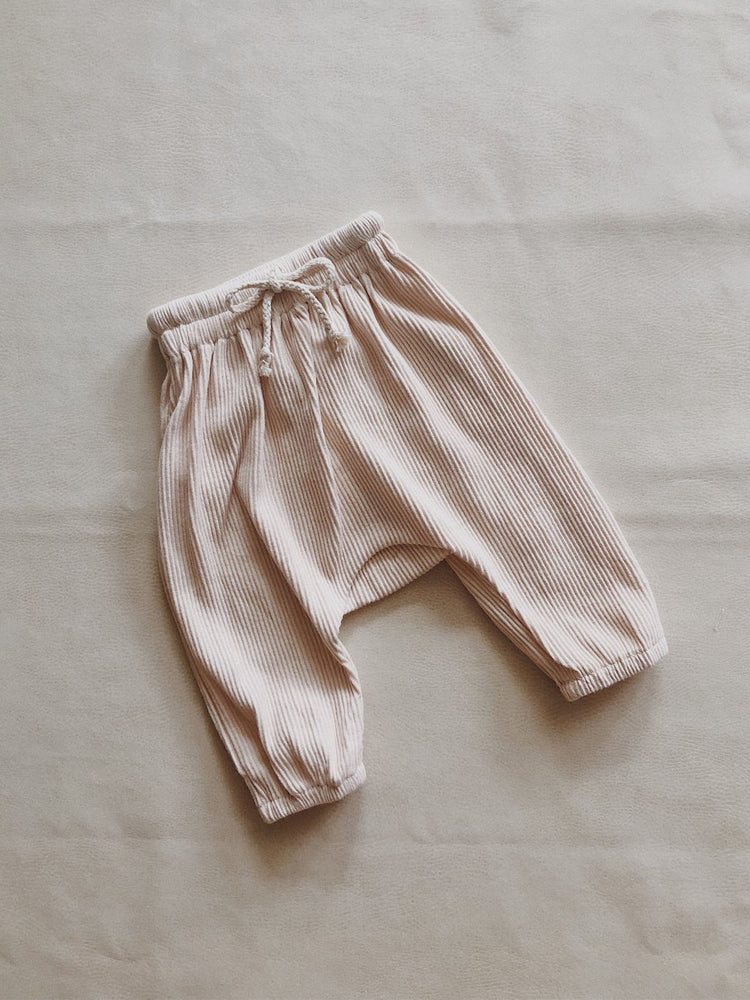 Load image into Gallery viewer, TINY TROVE Iggy Track Pants - Cream