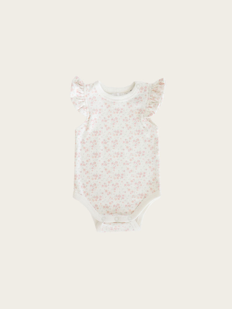 Load image into Gallery viewer, JAMIE KAY Frill Singlet Bodysuit - Primrose Floral