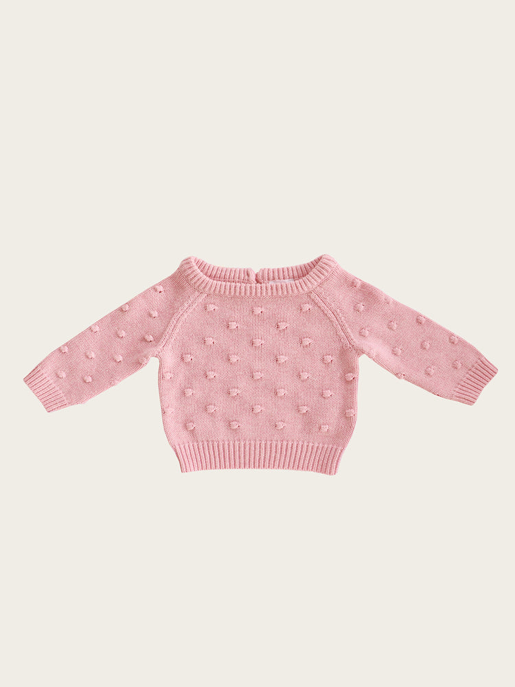JAMIE KAY Dotty Knit - Marshmellow Marle
