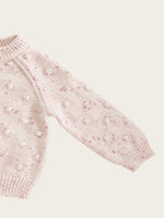 JAMIE KAY Dotty Knit - Raspberry Fleck
