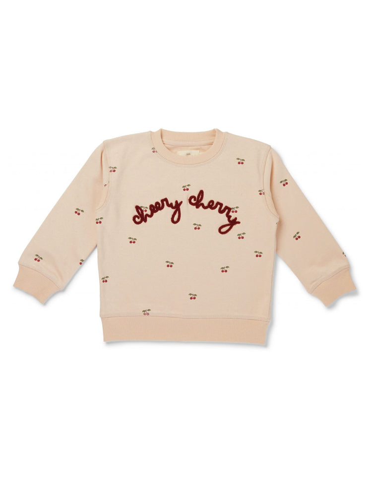 KONGES SLOJD Lou Sweatshirt - Cherry Blush