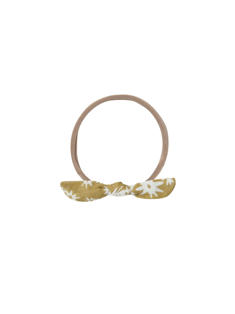 RYLEE + CRU Little Knot Headband - Scattered Daisy