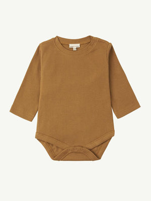 SUMMER AND STORM Bodysuit Long Sleeve - Mustard