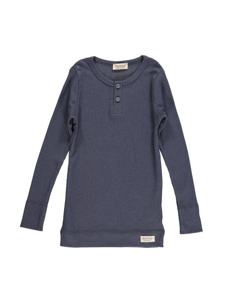 Load image into Gallery viewer, MARMAR COPENHAGEN Long Sleeve Tee - Blue