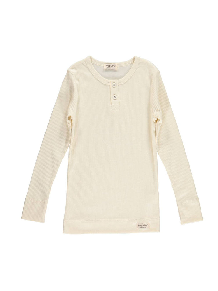 MARMAR COPENHAGEN Long Sleeve Tee - Off White