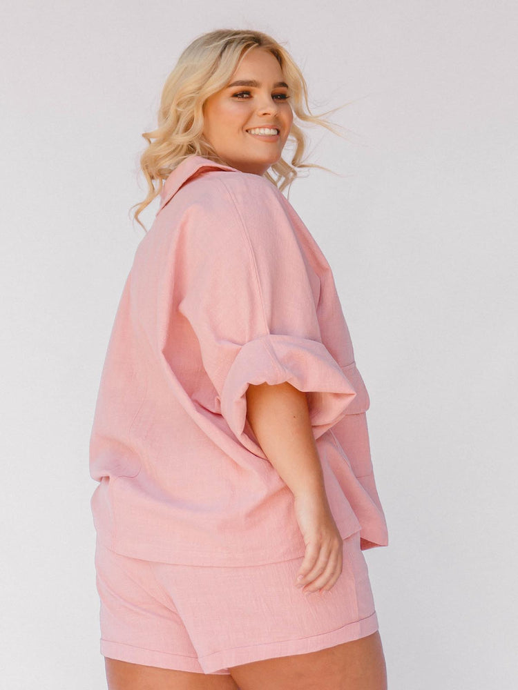 THE LULLABY CLUB Womens Lounge Set - Dusty Pink