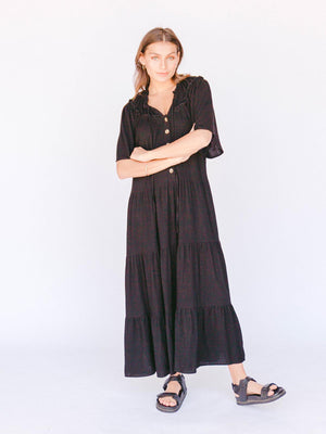 THE LULLABY CLUB Nikita Maxi Dress - Jett