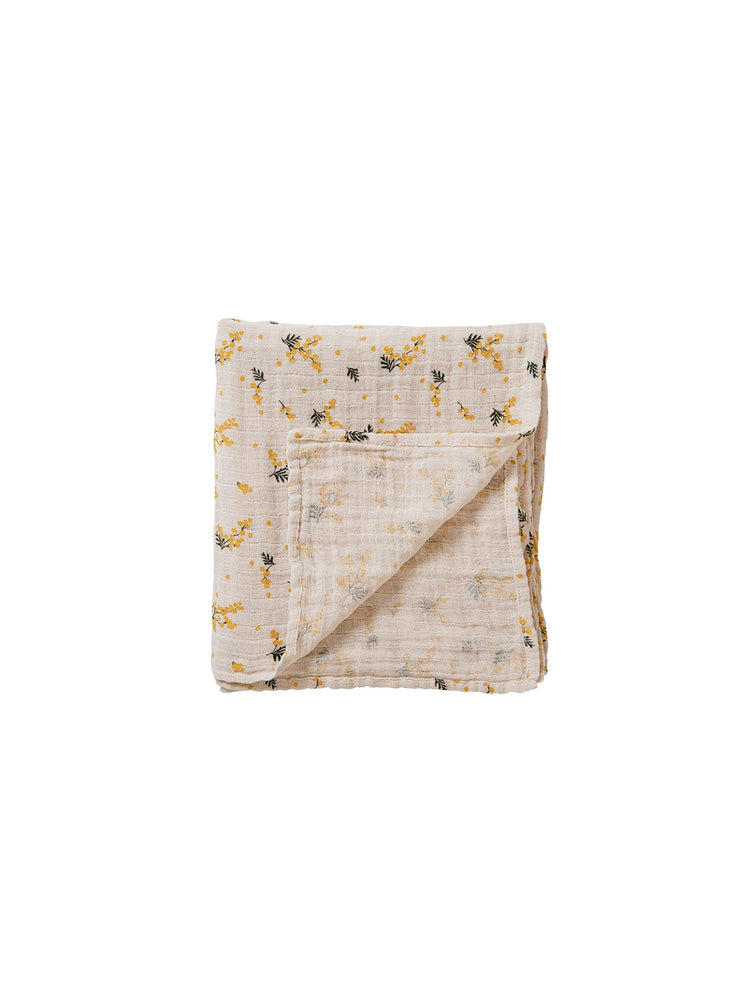 GARBO & FRIENDS Mimosa Muslin Swaddle Blanket