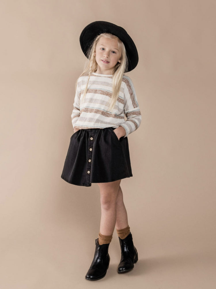 RYLEE + CRU Mini Skirt - Black