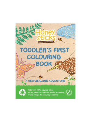 HONEYSTICKS Colouring Book - A NZ Adventure