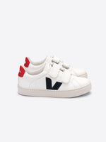 VEJA Esplar Leather - White Nautico Pekin