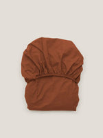 GARBO & FRIENDS Ochre Cot Fitted Sheet