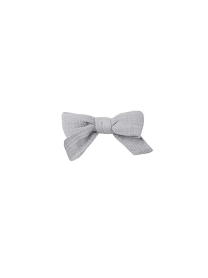 Load image into Gallery viewer, QUINCY MAE Schoolgirl Bow - Periwinkle