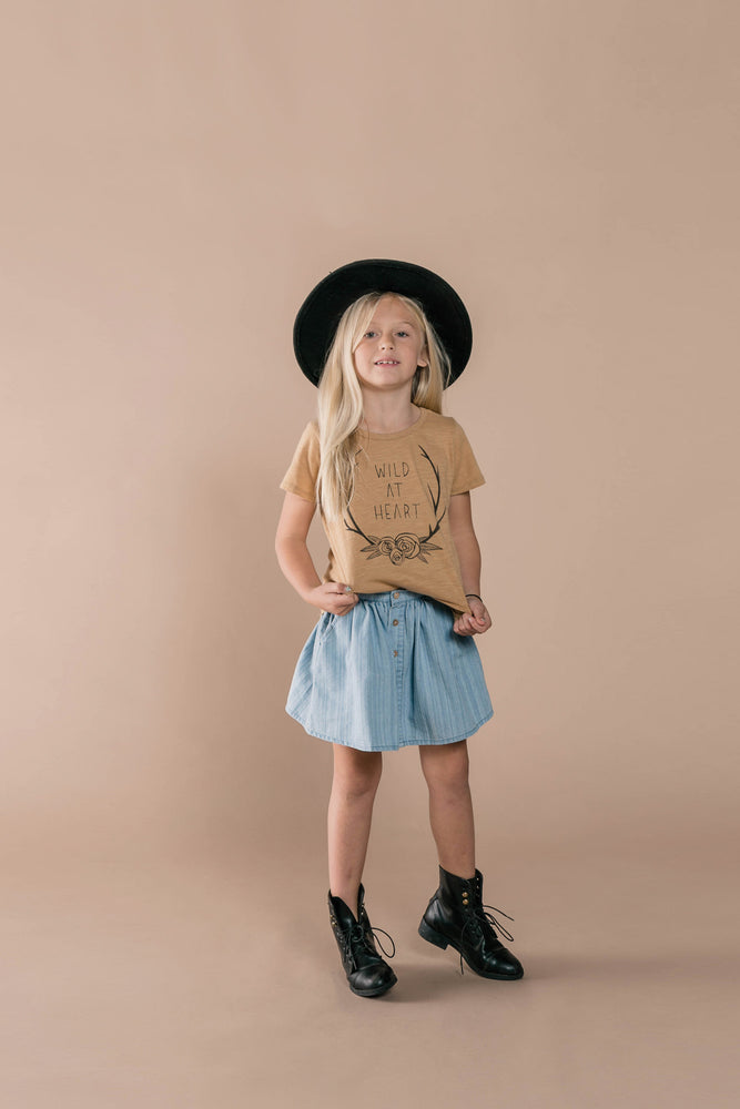 RYLEE + CRU Wild At Heart Basic Tee