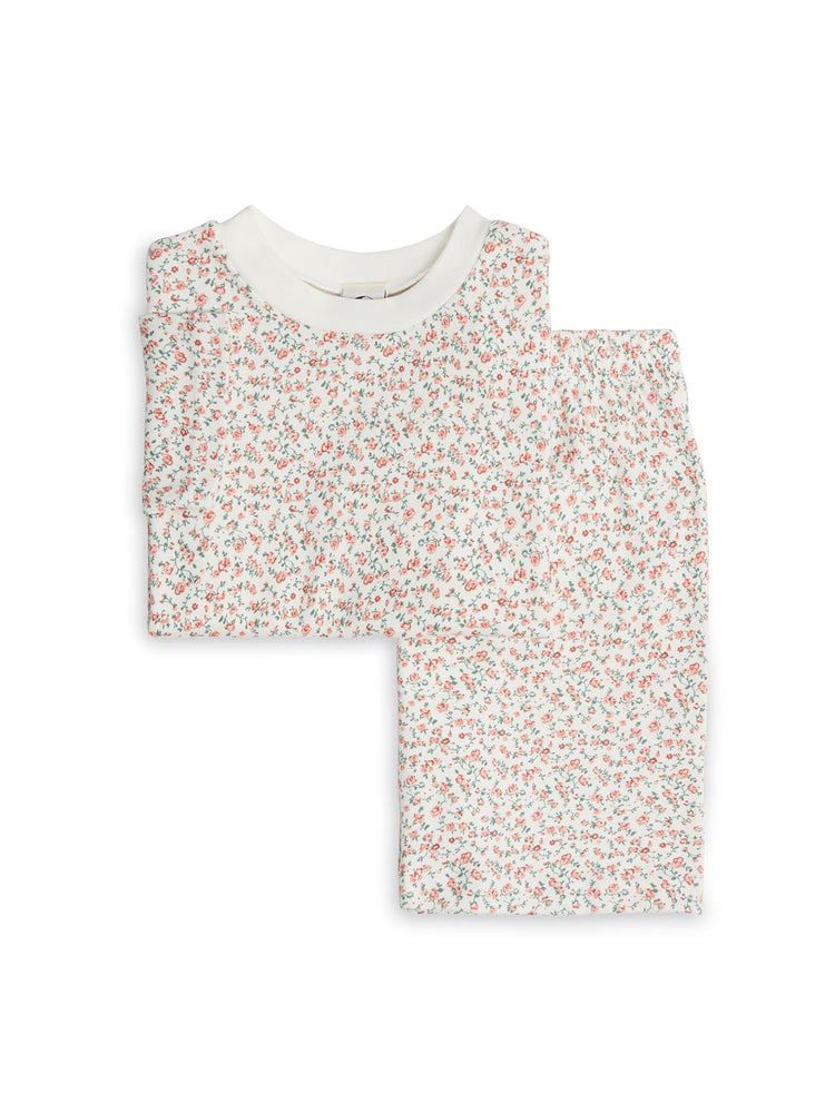 SLEEPY DOE Short Sleeve PJ Set - Rosy