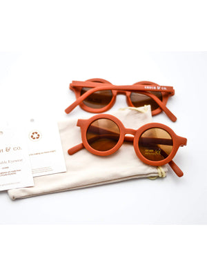 GRECH & CO Kid's Sunglasses - Rust