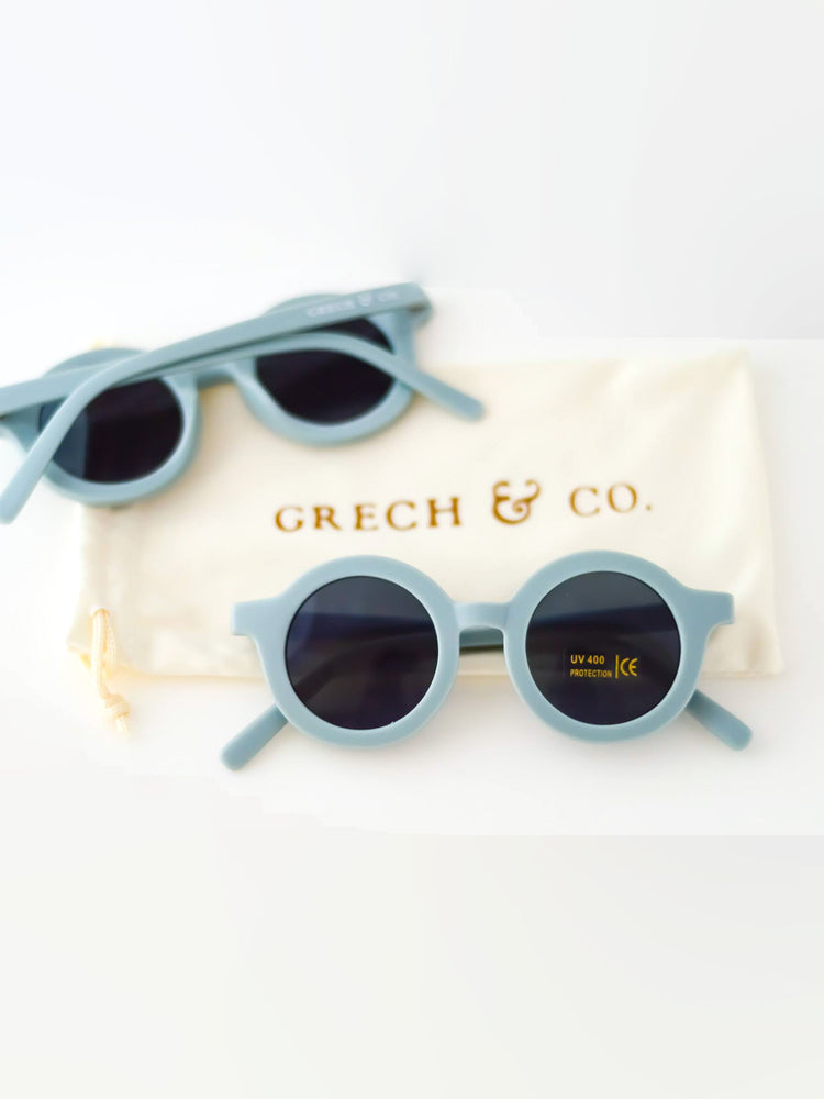 GRECH & CO Kid's Sunglasses - Light Blue