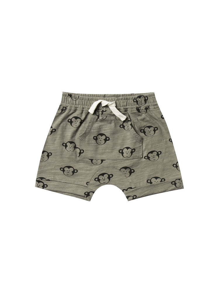 Load image into Gallery viewer, RYLEE + CRU Shorts - Monkey Pattern