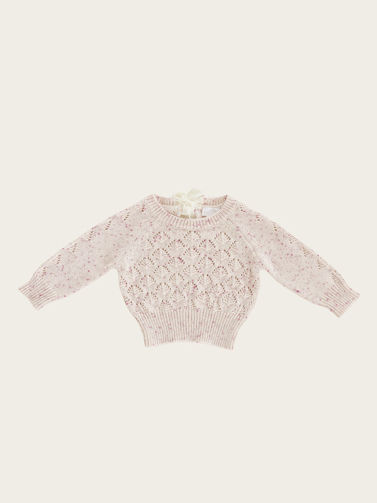 Load image into Gallery viewer, JAMIE KAY Sienna Knit - Raspberry Fleck