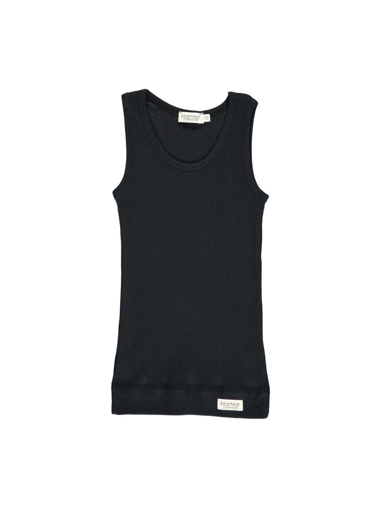 Load image into Gallery viewer, MARMAR COPENHAGEN Boys Singlet 2-Pack - Black