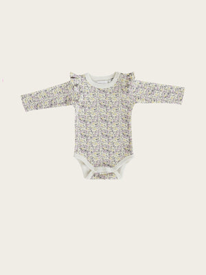 Load image into Gallery viewer, JAMIE KAY Frill Bodysuit - Summer Floral