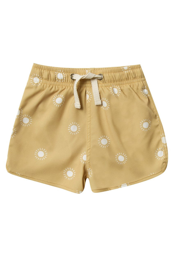 RYLEE + CRU Swim Trunk - Sunburst
