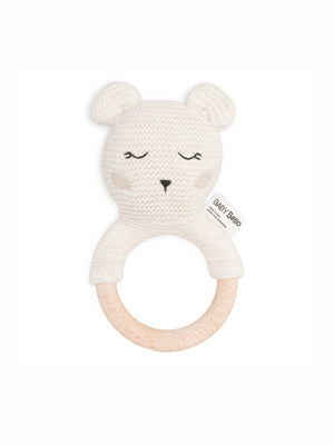 Load image into Gallery viewer, BABY BELLO Bobby the Polar Bear Teether