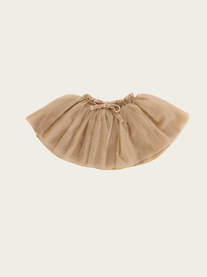 JAMIE KAY Soft Tulle Skirt - Champagne