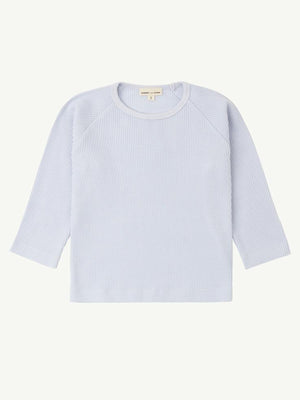SUMMER AND STORM Waffle Long Sleeve Tee - Powder Blue