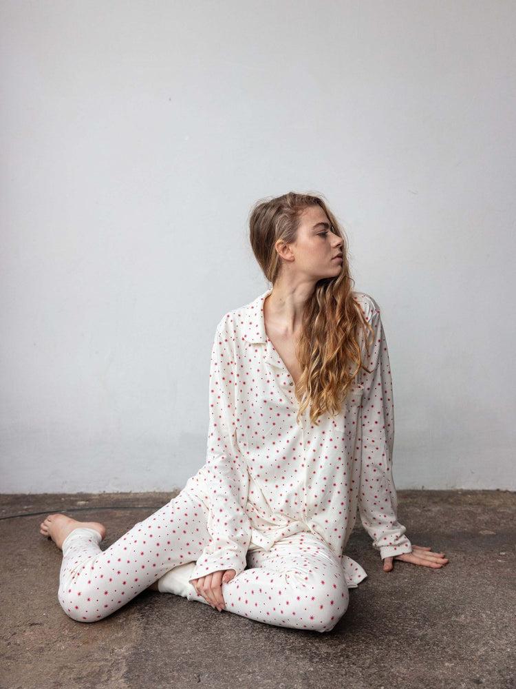SLEEPY DOE Women's PJ Set - Winter Star