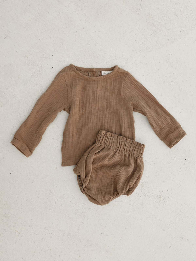 TINY TROVE Zimi Set - Mocha