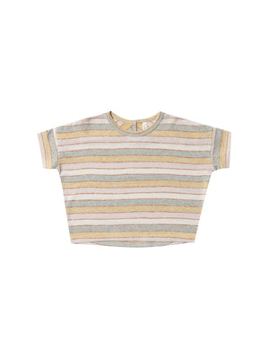 Load image into Gallery viewer, RYLEE + CRU Boxy Tee - Carnival Stripe