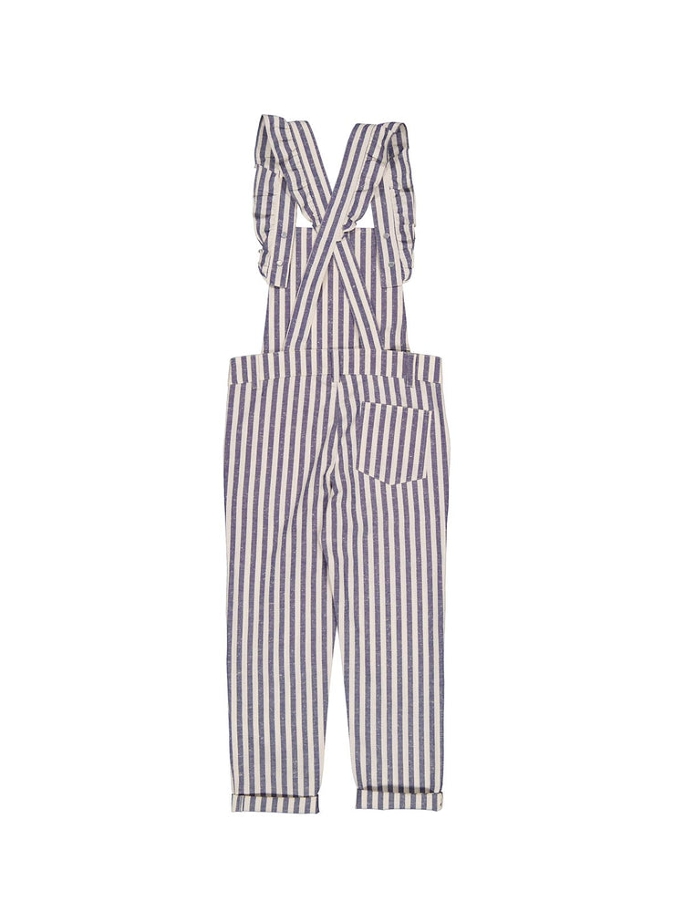 PETITE LUCETTE Georgette Overalls - Ocean Stripes