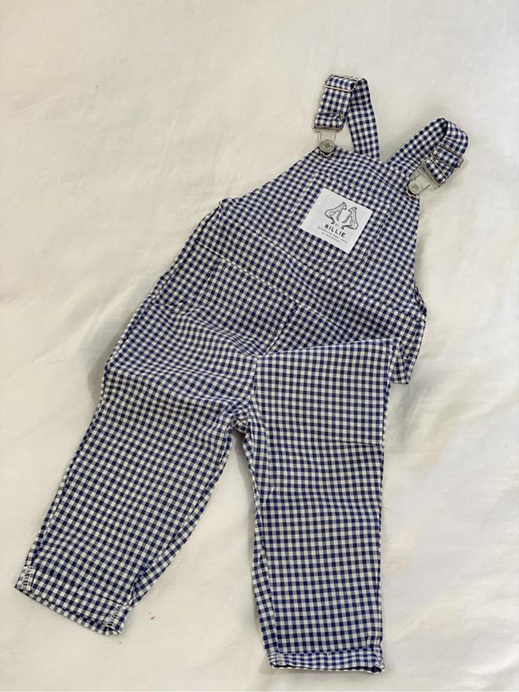 BY BILLIE Signature Overall - Blue Check
