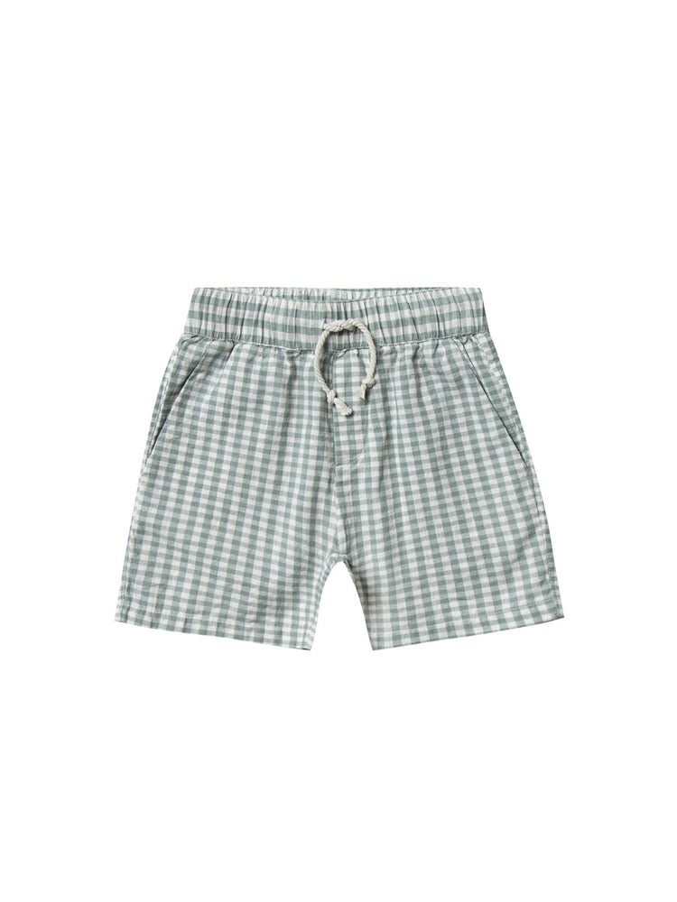 Load image into Gallery viewer, RYLEE + CRU Drawstring Short - Gingham