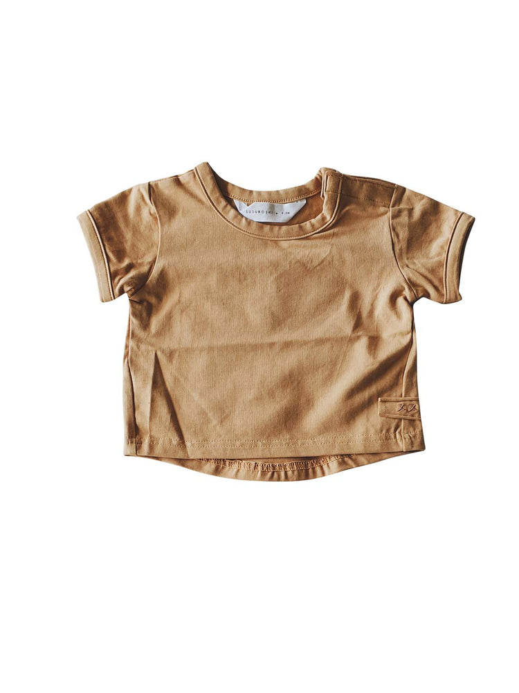 Load image into Gallery viewer, SUSUKOSHI Organic Boxy Tee - Sunkissed