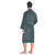 sheridan quick dry mens robe - graphite