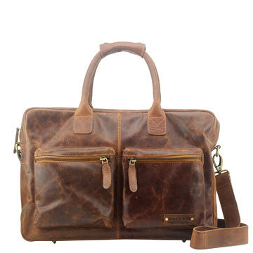 overnight leather bag