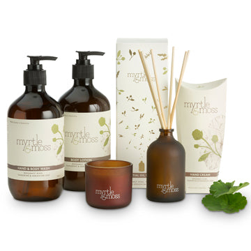 myrtle & moss deluxe pamper pack