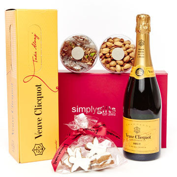 Christmas hamper Champagne and Nuts