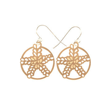 polli gold pomegranate earrings