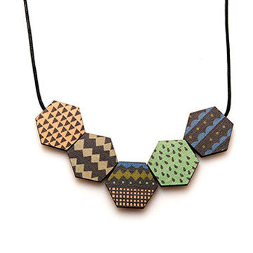 polli wooden copenhagen necklace